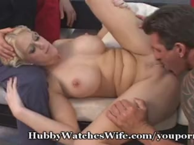 Hubby Loves Seeing His Wife Fuck Another