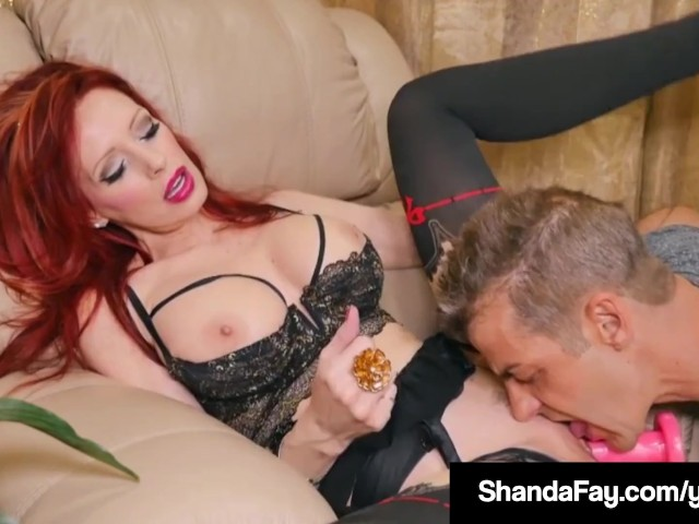 Canadian housewife shanda fay loves cum on her toes amp feet 6