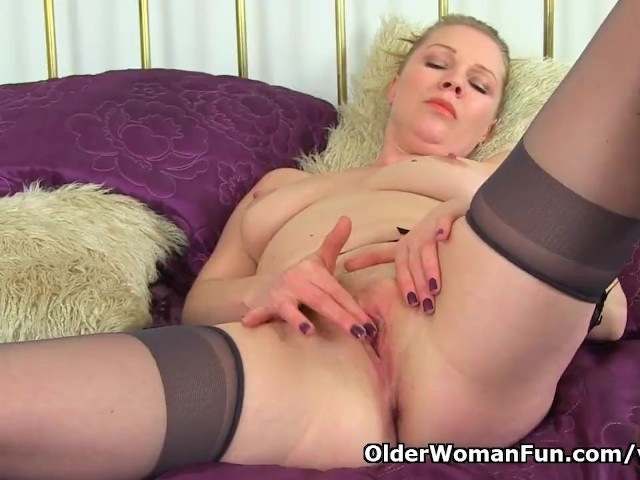 English milf abi needs getting off for starters