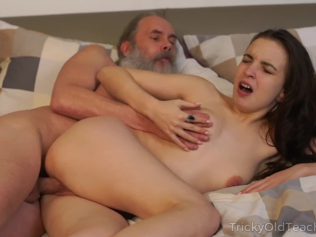Old teacher with her beautiful natural boobs Milana Witchs #1183442
