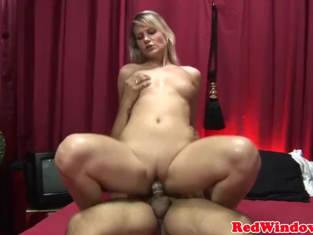 Blonde dutch slut doggystyled before cumshot #1157104