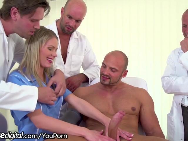 3 Doctors, 1 Patient & a Young Nurse Gangbang - Free Porn Videos - YouPorn