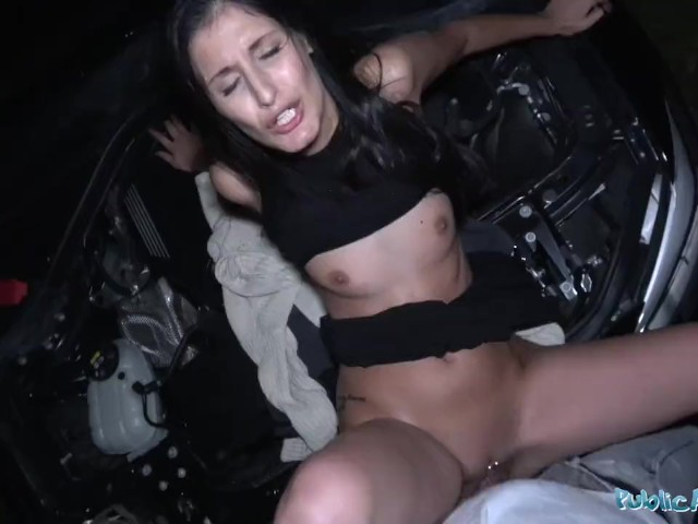 Public Agent Coco Kiss Fix My Car And Fuck My Pussy - Free -5751