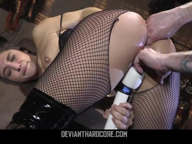 Deviant Hardcore - Anal Slut Abella Danger Brutally Fucked