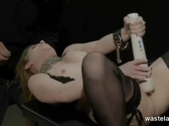 Shackled To A Table And Toyed While Giving Head #1150035