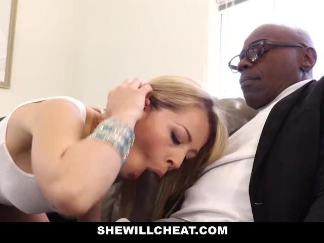 Shewillcheat sexy young wife fucks bbc 6