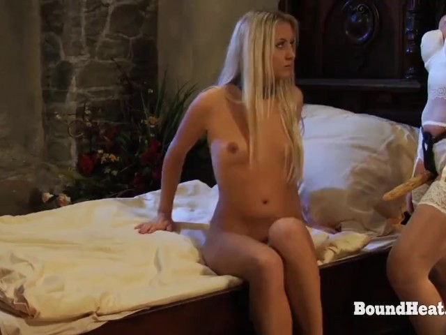 Disappeared on Arrival: Bound Lesbian Slave Taken From Behind - Free Porn Videos - Cliporno