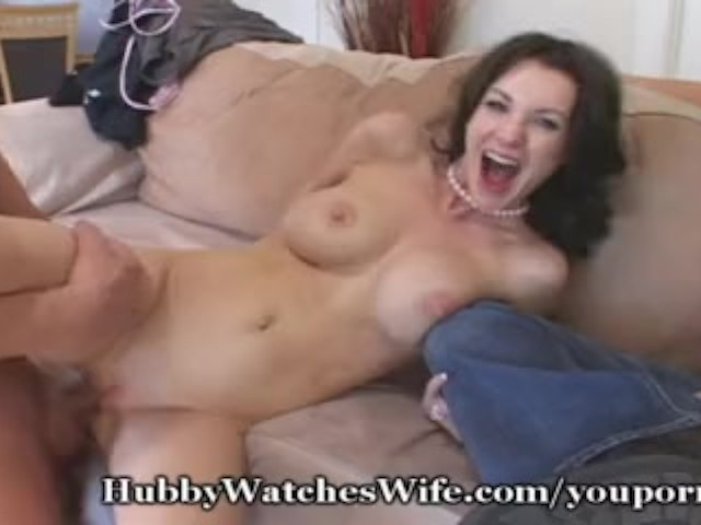 Encouraged by Her Hubby to Fuck
