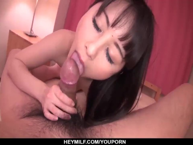 Ayumi iwasa needy wife enjoys cock in pov mode