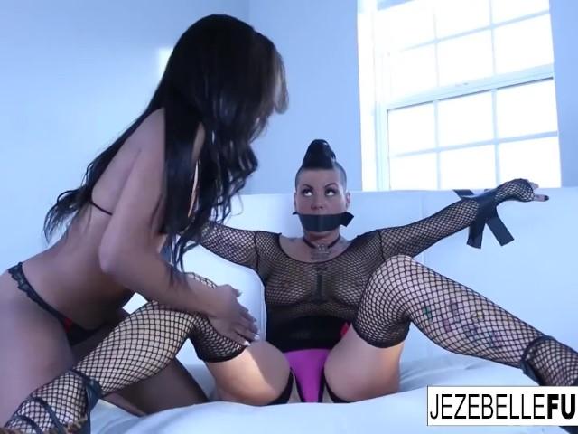 jezebelle and ashley return for more girl on girl fun