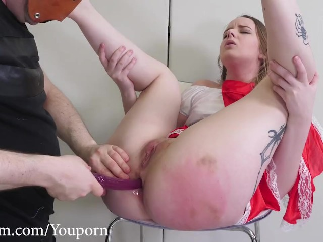 Spanked and anal