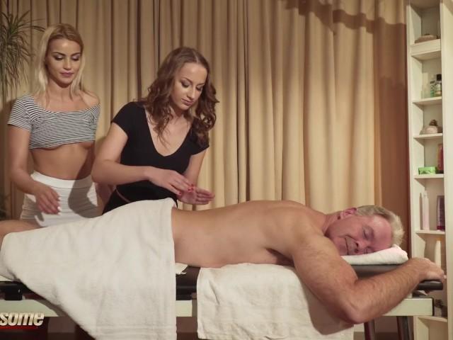 Blonde Milf Prostate Massage