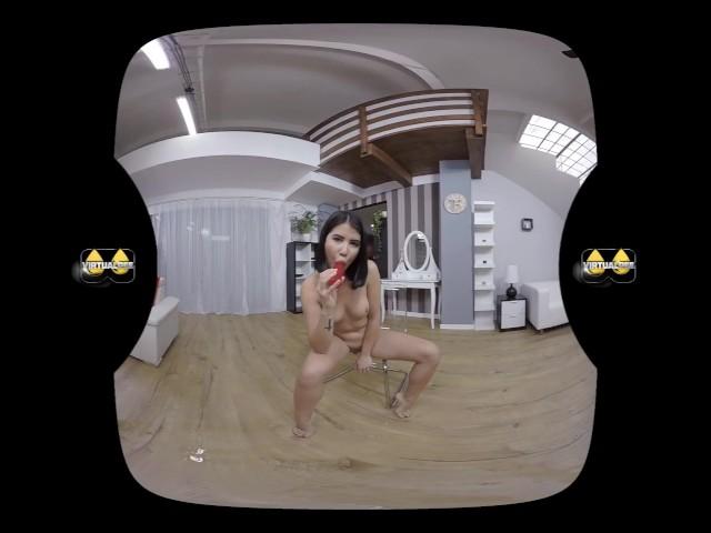 image Dj masturbates and dildos her ass