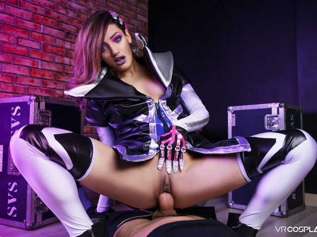 Vrcosplayx.com the Last Fuck With Sombra in Overwatch Xxx