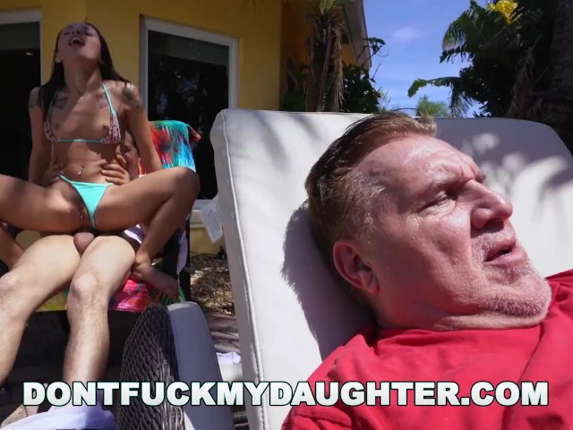 Don't Fuck My Daughter- Teen Holly Hendrix Has Anal Fun Dad's Friend