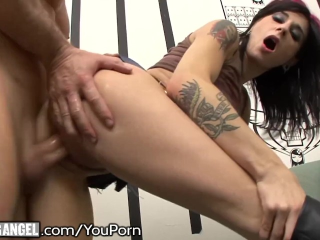 Joanna Angel's Cum Slurping, Dp Drilling!