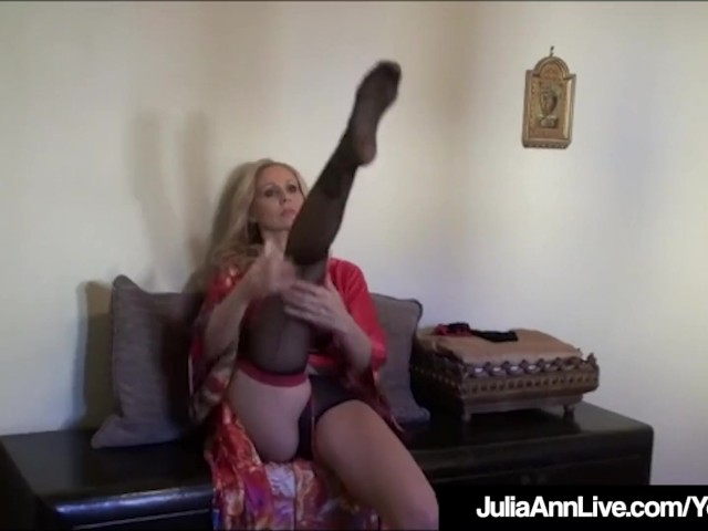 image Busty julia ann teases big dick