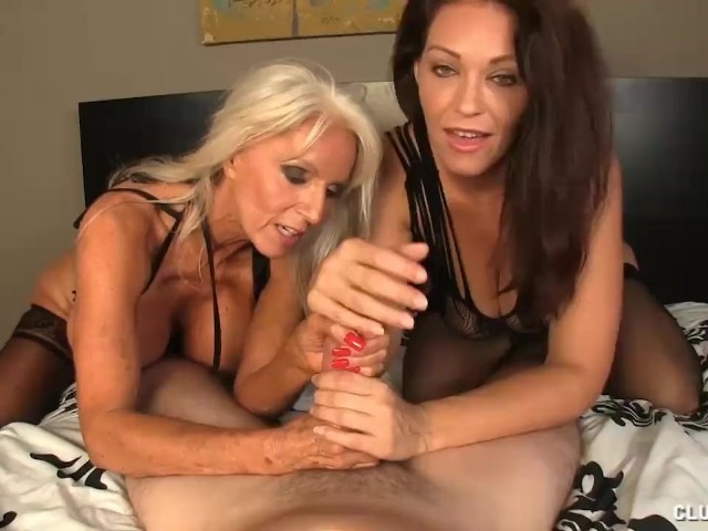 Two Horny Milfs Offering Good Time for Cock