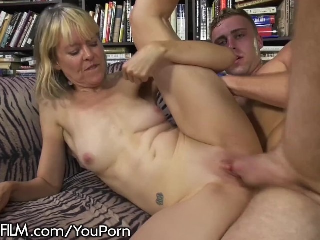 image Hot southern grandma gets her young cock