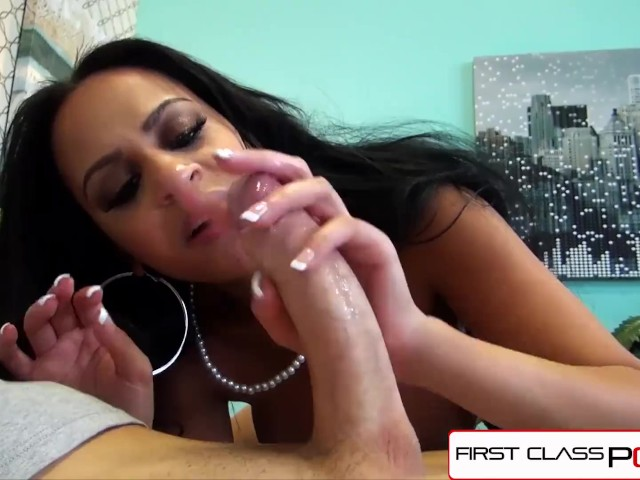Firstclasspov - Kimberly Kendall Sucking a Big Dick, Big Boobs & Big Booty
