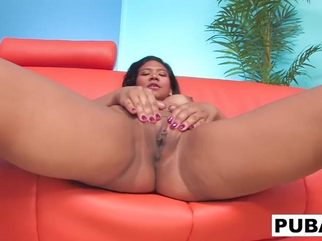 Cute Little Latina Emy Reyes Masturbates to Completion