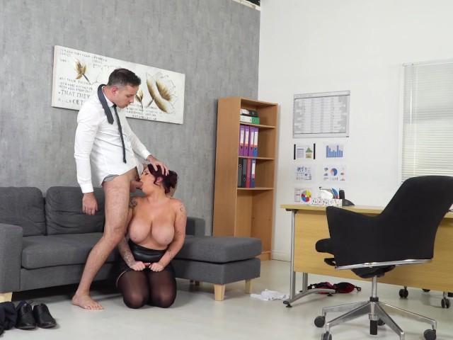 Busty Boss Fucked Hard