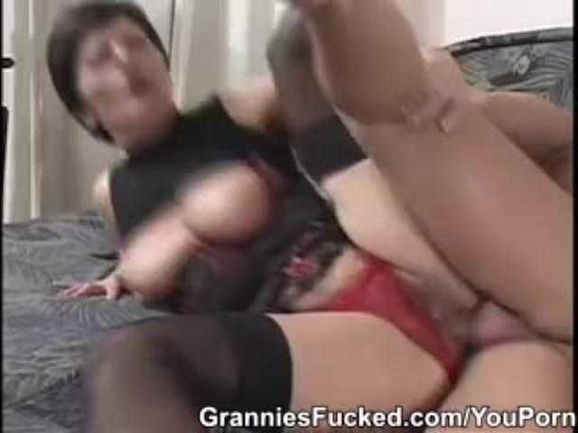 Granny Getting It Hard