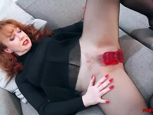 Mommy got cum redhead