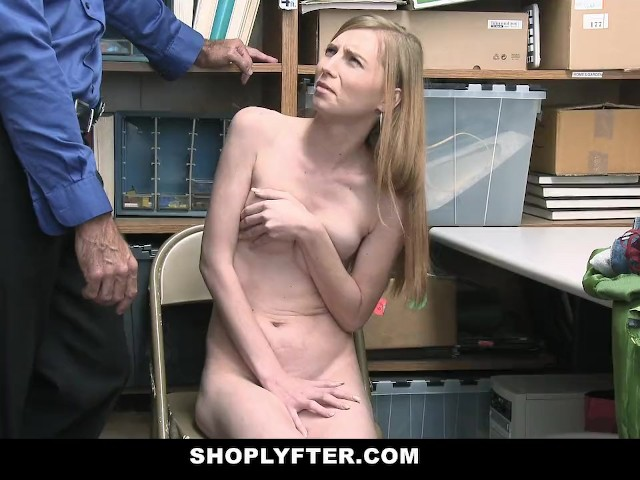 Shoplyfter - Teen Thief Devours Cock for Her Freedom