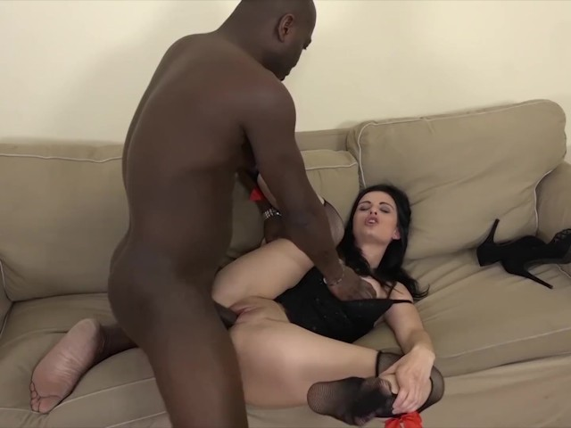 Teen Fucked in Her Ass Hard With a Big Black Cock and Cums Inside Her