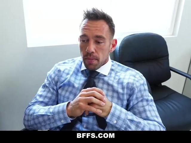 Bffs - Hot Teens Share Their Boss's Cock