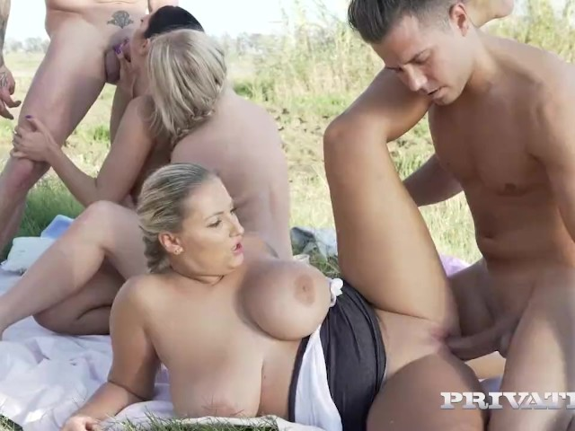 Privatecom Big Boobs Orgy In The Country - Free Porn -9783