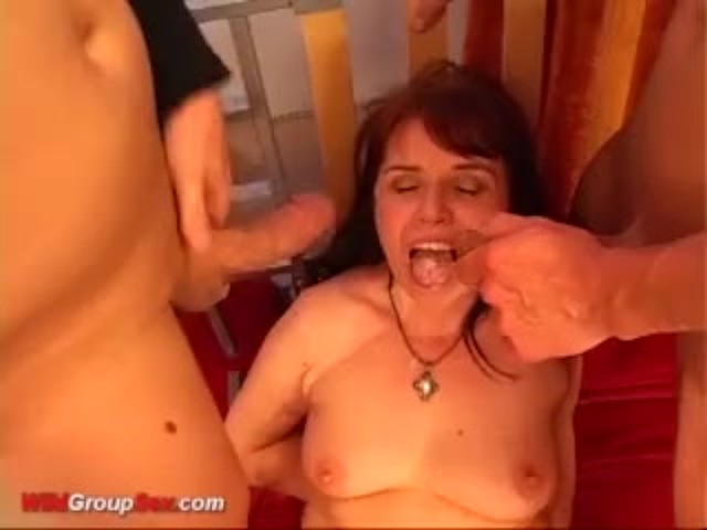 Grannys First Double Penetration