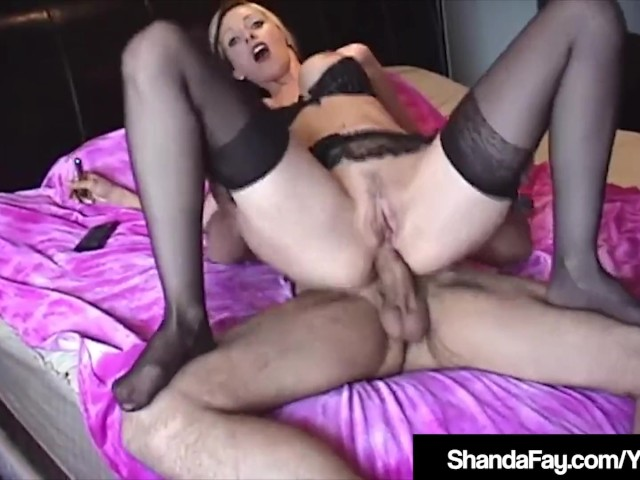Horny Housewife Shanda Fay Is Ass Fucked by Hard Hubby!