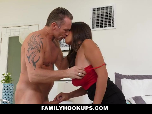 familyhookups - stepdad teased and fucked by stepdaughter