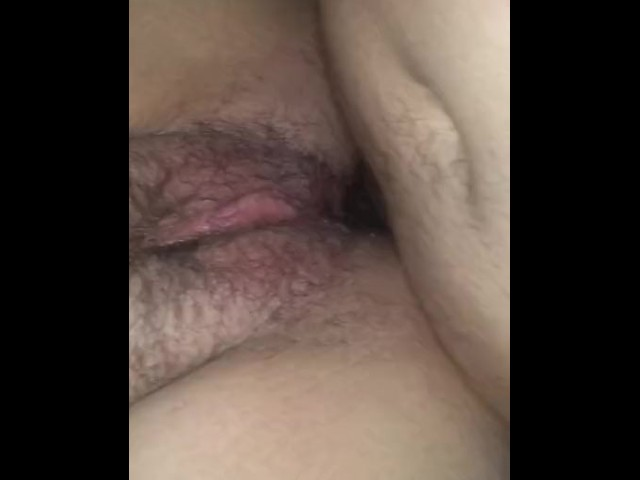 He Fucked My Ass Hard Anal Creampie Baby