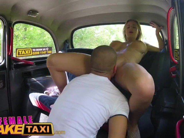 Female Fake Taxi Horny Blondes Big Tits Bounce In Dirty -5958