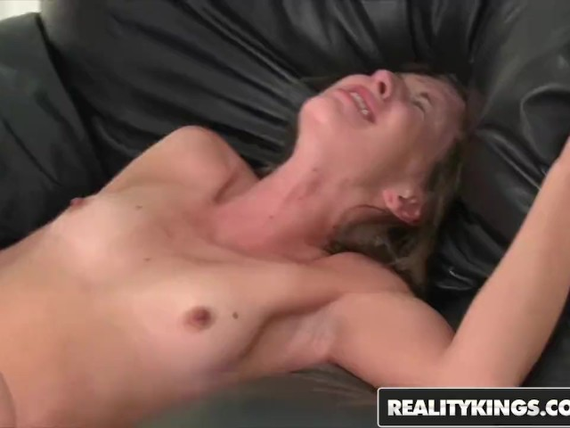 Reality Kings - Skinny Brunette Teen Autumn Winters Talked Into Porn