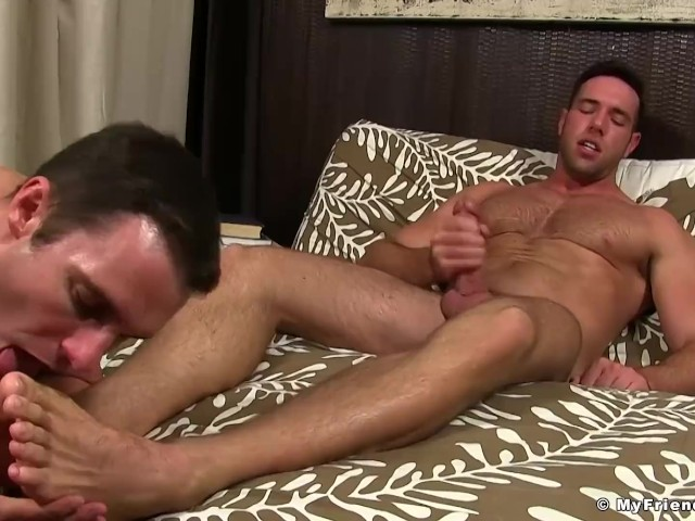 Hunk Jerks Off While Having His Feet Sniffed and Licked - Free Porn Videos  - YouPorngay