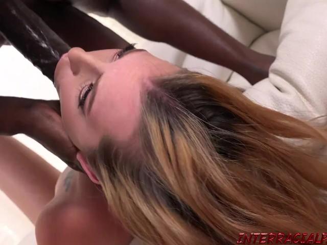 18 Year Old Melody Parker Loves Big Black Cocks