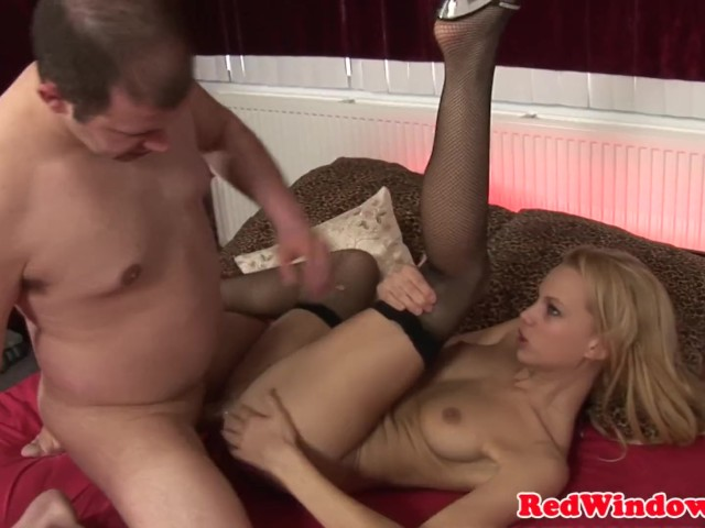 Pussylicked Euro Hooker Getting Doggystyled