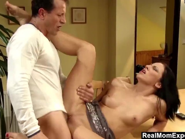 sexy mom eva torres fucked hard on the table