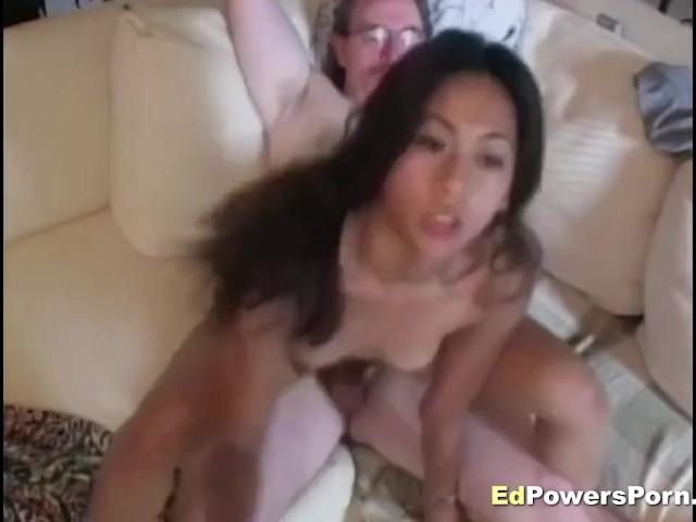 Asian Teen Riding Cock