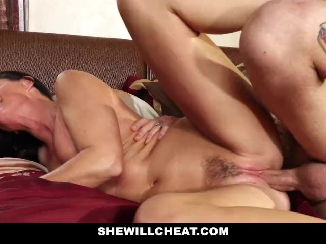 Shewillcheat - Horny Stepmom Using Vibrator