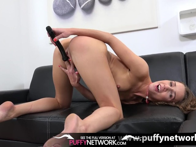 Wet Porn - Playful Teen Toys Her Piss Soaked Pussy