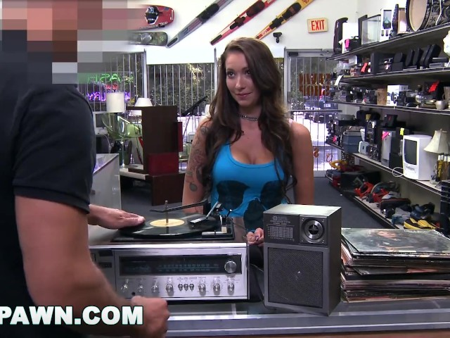 Xxx Pawn Beautiful Rocker Chick Came To My Shop With A Crate Full Of Vinyl Free Porn Videos Youporn