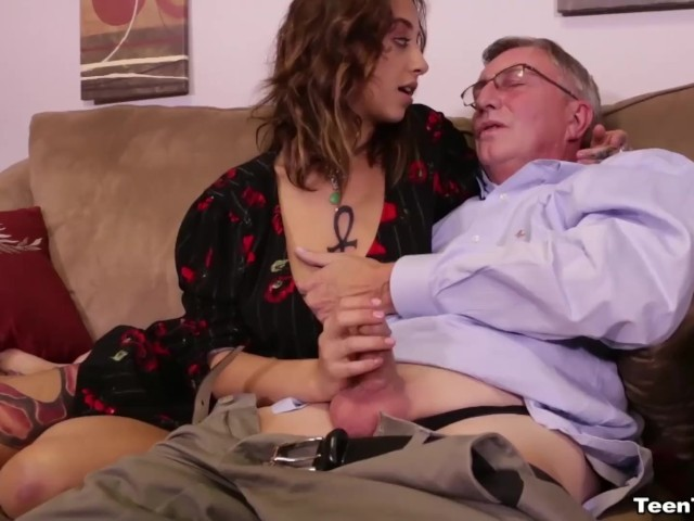 Jerking Off The Old Man - Free Porn Videos - Youporn-4479