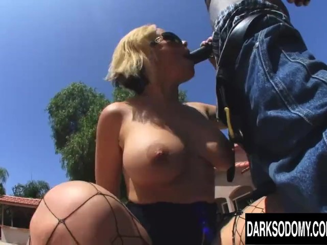 Provocative Blonde Milf Sunny Day Is Fucked Rectally by a Black Man - Free Porn Videos - Cliporno
