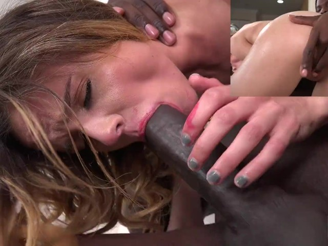 First Interracial for Student Addee Kate