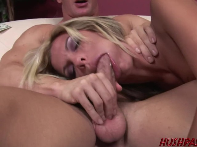Housewife Kendall Brooks Fucked in a Threesome
